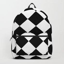 Diamond Black & White Backpack