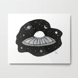 Astronave Metal Print