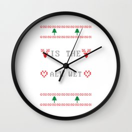 Christmas Movie Gift Griswold National Lampoon Dark Light Wall Clock