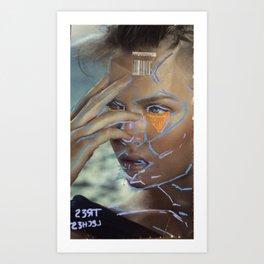 tres  l3ches Art Print