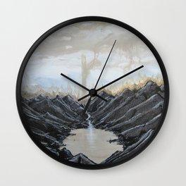 Raiment of Dusk Wall Clock