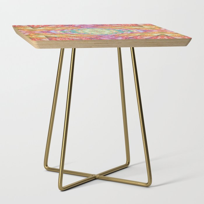 Psychedelic Journey GOA 1 Side Table