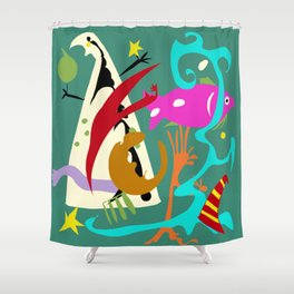 The Dream Tent Shower Curtain