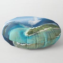 Bora Bora: South Pacific Paradise Floor Pillow