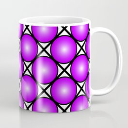 Neon Purple Pattern Coffee Mug
