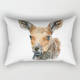 Little Moose by Teresa Thompson Rectangular Pillow