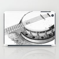 banjo iPad Cases featuring Banjo by Ashley Silvernell Quick
