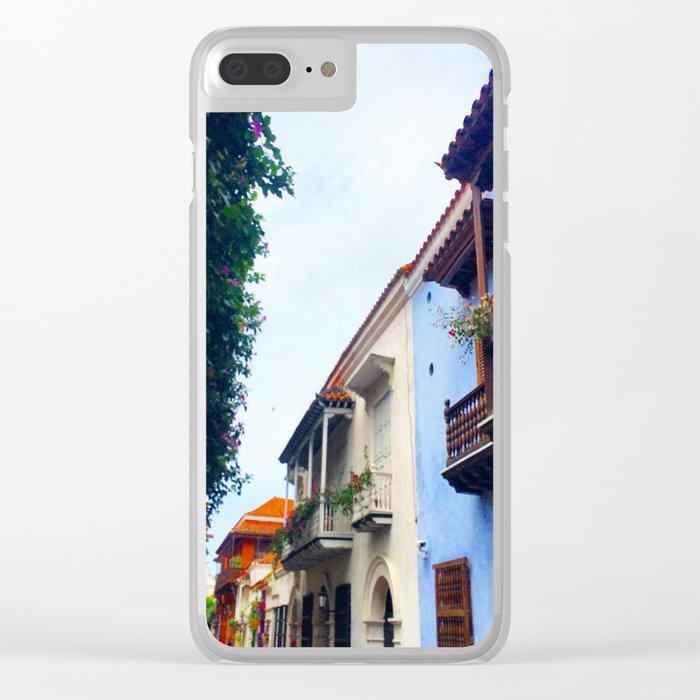 Cartagena Has Stolen My Heart, Mi Corazon Clear iPhone Case