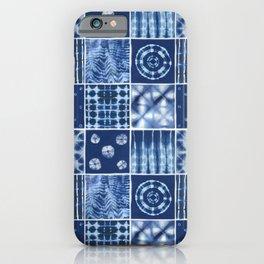 Shibori mix iPhone Case