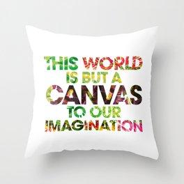 This World Throw Pillow