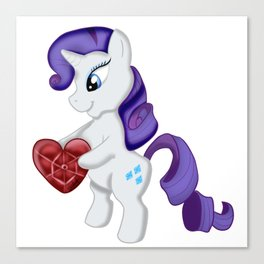 Rarity have a gift Canvas Print