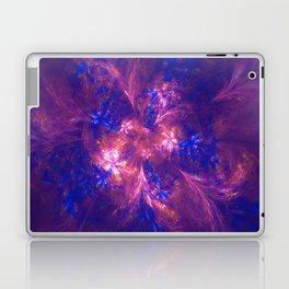 Abstract Blue And Purple Shape Laptop & iPad Skin