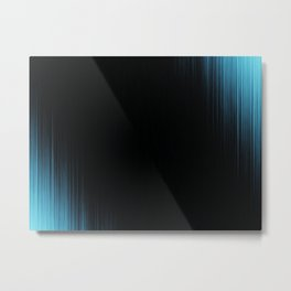 Blue Fantasia Zone Metal Print