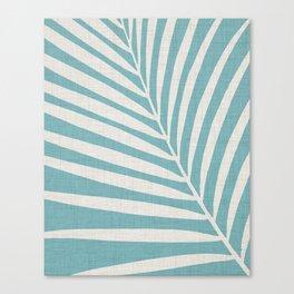 Vintage Palm Frond Canvas Print