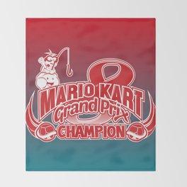 Mario Kart 8 Champion Throw Blanket
