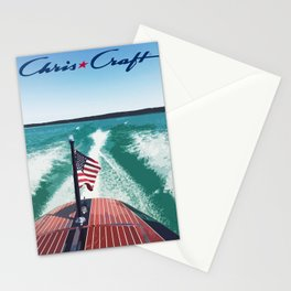 Chris Craft Boating Stationery Cards