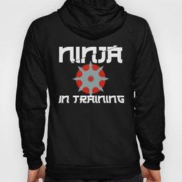 Ninja in Training Shiruken Ninjutsu Martial Arts Hoody