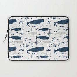 Sperm Whale #nautical #homedecor #coastal #whale Laptop Sleeve