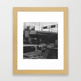 EDSA, 2013. Framed Art Print