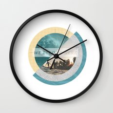 We belong Wall Clock