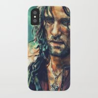 lotr iPhone & iPod Cases featuring Elessar by Alice X. Zhang