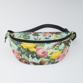 Floral and Birds III Fanny Pack