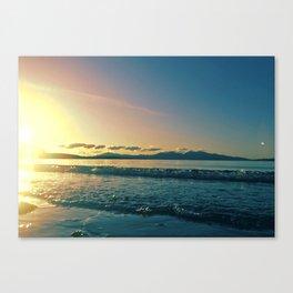 Oban   Musical Crime Productions   Scottish Seascape   Sunset Canvas Print