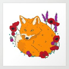 Wildfox Art Print