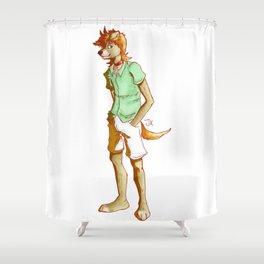 Johnnie Grown Up Shower Curtain