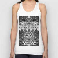 triangles Tank Tops featuring TRIANGLES. by Council for design.
