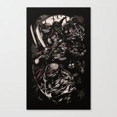 Cowabunga! Canvas Print