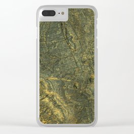 golden scales of the dragon ares | space #14 Clear iPhone Case