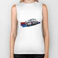 bmw Biker Tanks featuring BMW Art by SABIRO DESIGN