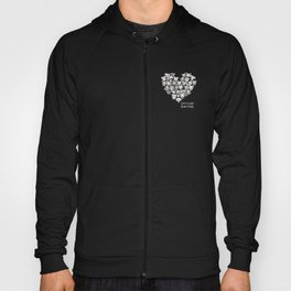 Just Love. (white text) Hoody