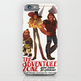 Here There Be Gerblins iPhone Case