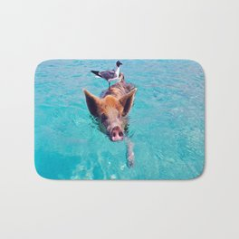 Pig Bath Mat