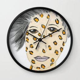 Be Your Wild Self Wall Clock