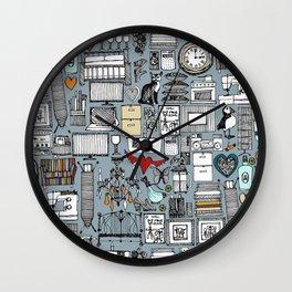 love and stuff Wall Clock