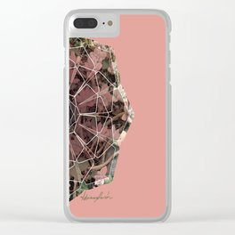 Catus: Nature + Geometry Clear iPhone Case