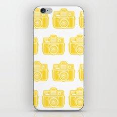 I Still Shoot Film Holga Logo - Sunshine Yellow iPhone Skin
