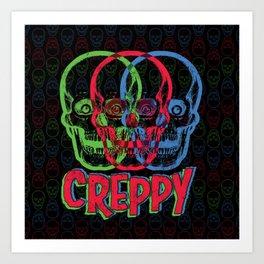 CREPPY Art Print