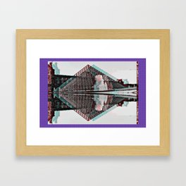 La Louvre Framed Art Print