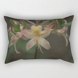 Florida Flame Azalea - Rhododendron austrinum Rectangular Pillow