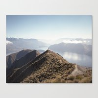 new zealand Canvas Prints featuring New-Zealand by nodirectionhome