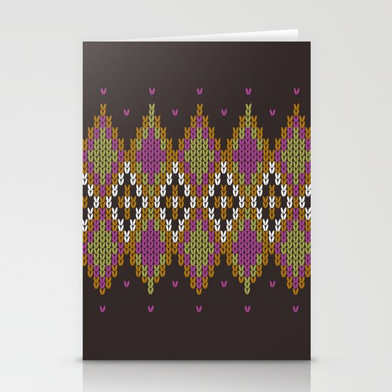 Argyle Dream Stationery Cards