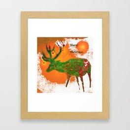 Merry Christmas 3 Framed Art Print