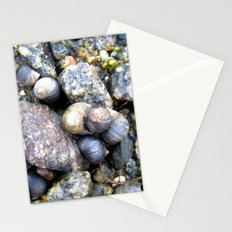 mussels. Stationery Cards