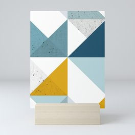 Modern Geometric 18 Mini Art Print