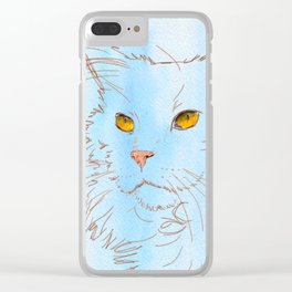 Magnificent Maine Coon Clear iPhone Case