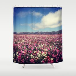 SEA OF FLOWERS Shower Curtain